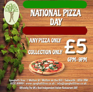 NATIONAL PIZZA DAY | PIZZA | TAKEAWAY | PIZZA OFFER | 9TH FEBRUARY